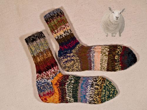 Ragga socks for Etsy February 20
